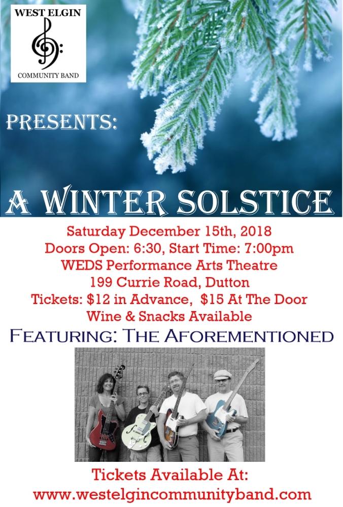A Winter Solstice Dec 2018
